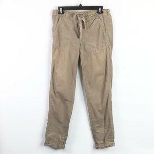 J. Crew city pants pull on drawstring waist pants